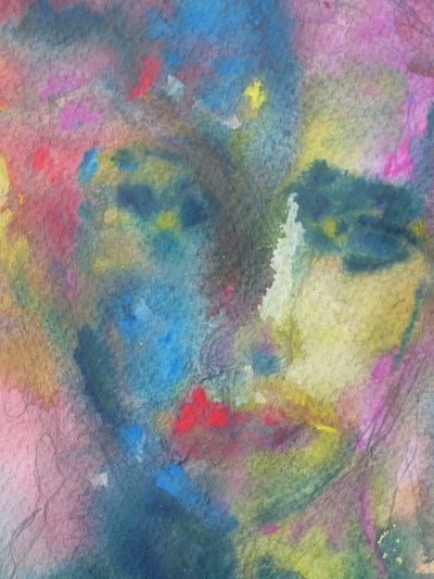 Watercolour Face IV