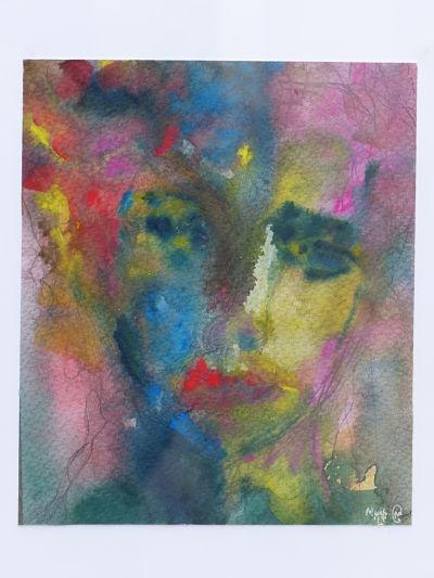 Watercolour Face IVWatercolour Face IV