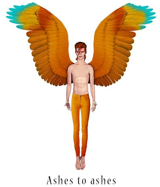Idolo Alado Bowie